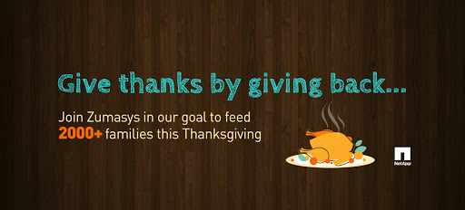 Cloud Computing Company Zumasys To Assist Thanksgiving Food Program In Orange County