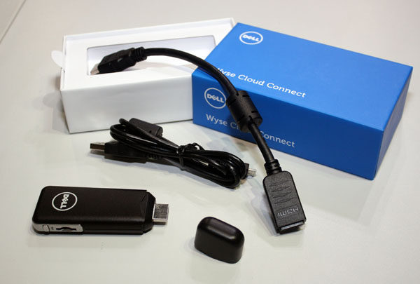 Dell Offers Wyse Cloud Connect Portable Device
