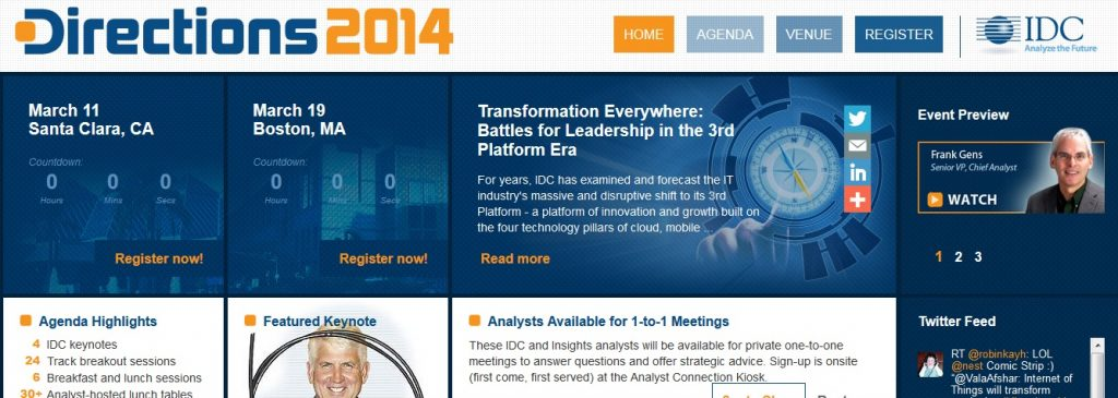 IDC Conference In Boston Talks About Cloud Computing Future